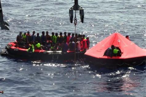 fishing boat sinks in irish sea some 230 migrants feared dead after ramshackle fishing