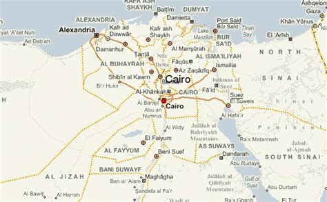 where is cairo on a map cairo location guide