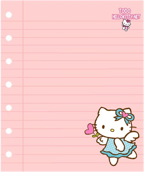 imagenes decoradas para imprimir hipster papeles de carta de hello kitty todo hello kitty