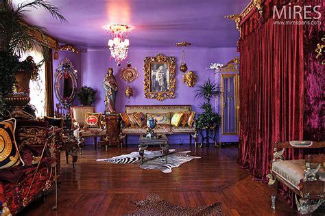 interieur baroque actuel  mires paris