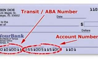 Routing Number Aba Routing Number Aba Bank Routing Numbers Routing