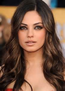 brown hair with highlights best highlights ideas for dark brown hair natural hair care