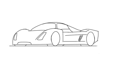how to draw a car drawing fast race sports cars step by step draw cars like buggati aston martin more for beginners books how to draw a le mans race car junior car designer