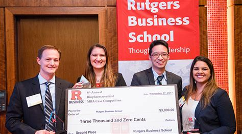 Rutgers Pharma Mba Competition 2017 by Ucla And Rutgers Are Top Winners In Biopharmaceutical