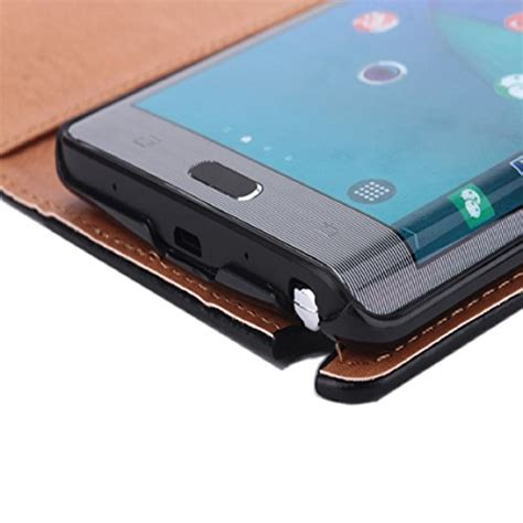 Fonel Fashionable Simple Wallet Note Edge Sm 915 Original 100 bessky tm for samsung galaxy note edge sm n915 leather flip wallet cover black