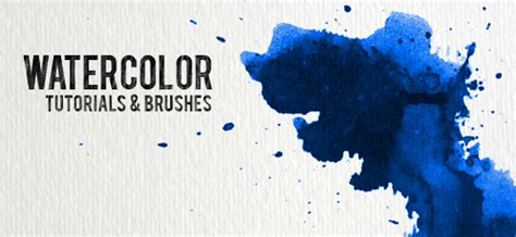 Watercolor Tutorial Photoshop Cs3   30 watercolor tutorials and brush sets for photoshop