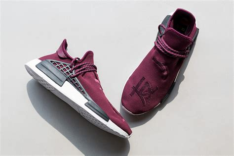 Tokosport Nmd Human Race Friends And Families Quality pharrell adidas nmd burgundy friends family sneakerfiles