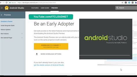 how to install android studio how to install android studio 3 0 canary 1 alongside stable version 2 3 2 in