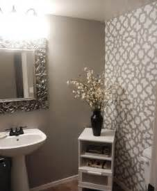 bathroom wall stencil ideas diy bathroom makeover using stencils 171 stencil stories