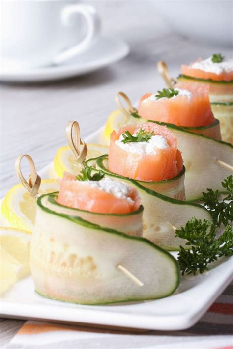 appetizers fancy fancy appetizer recipe cucumber salmon 12 tomatoes