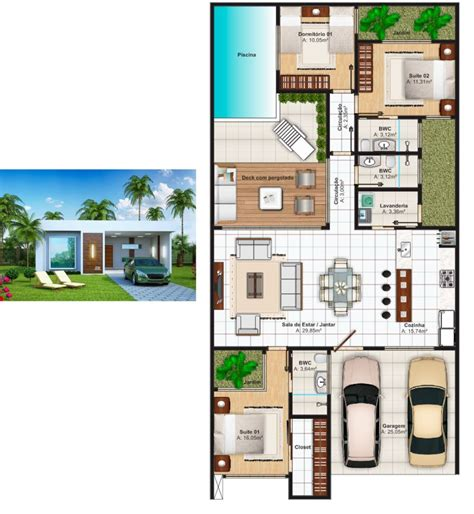 plantas casas plantas de casas 3 quartos 37 inspira 231 245 es e projetos