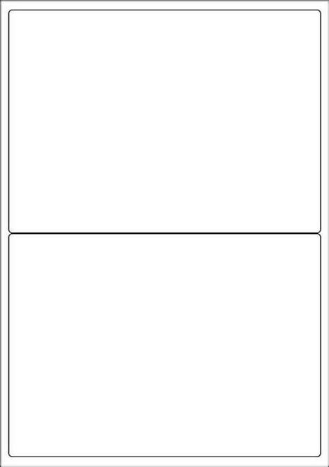 A4 Printable Label Sheets   white a4 labels 2 per sheet 500 sheets per box from labelzone