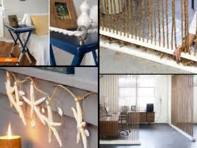 diy home interior design ideas diy home decor with rope 00