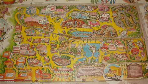 knotts berry farm map knott s berry farm 1976 park map