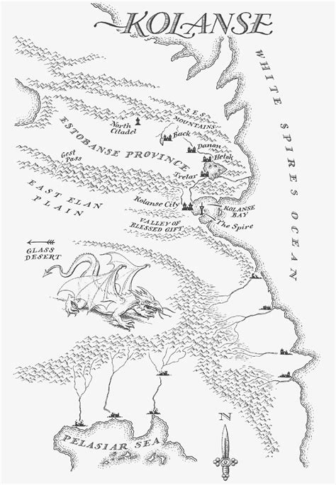 Image - Map Kolanse.jpg | Malazan Wiki | FANDOM powered by