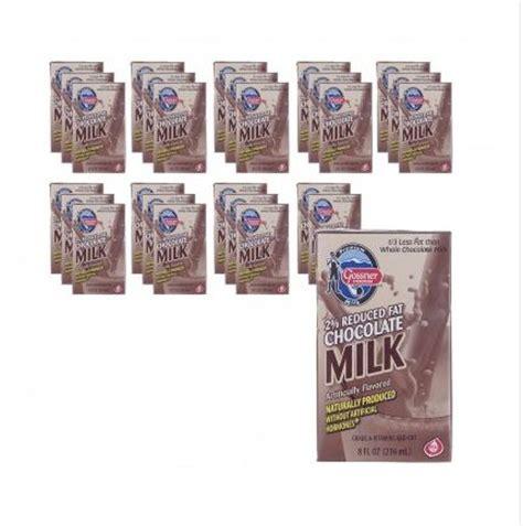 shelf stable reduced 2 chocolate milk 8 oz box