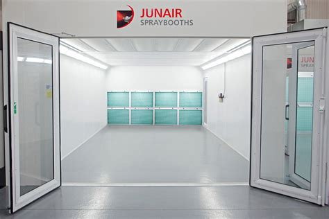 spray paint booth industrial dry filter spray booths junair spraybooths