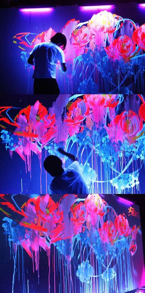 glow in the paint tips best 20 glow paint ideas on