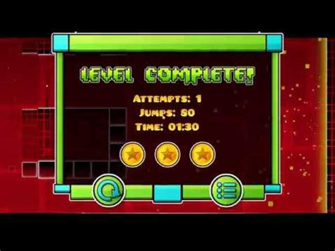 geometry dash full version all coins geometry dash stereo madness full version 3 coins