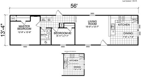 single wide 2 bedroom trailer single wide mobile home floor plans 2 bedroom