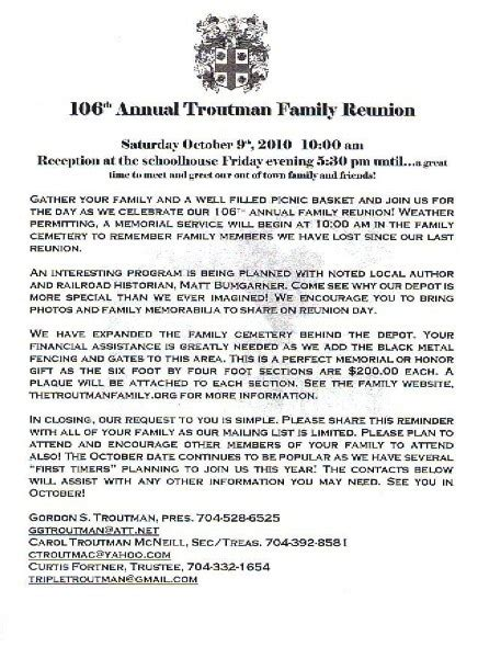 family reunion letter template 36 best images about family reunion ideas on