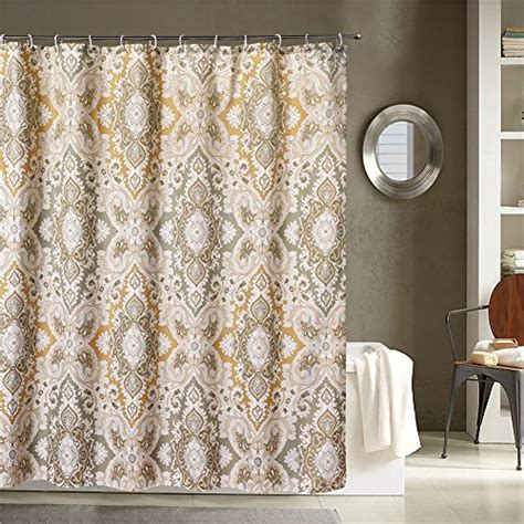 brown paisley shower curtain new lanmeng fabric shower curtain classic paisley design