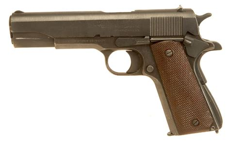 deactivated wwi wwii colt m1911 manufactured by