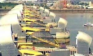 thames barrier improvements bbc news uk england london ill prepared for flood risk