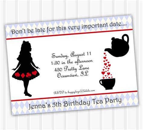 tea party invitation template download invitetown girls tea