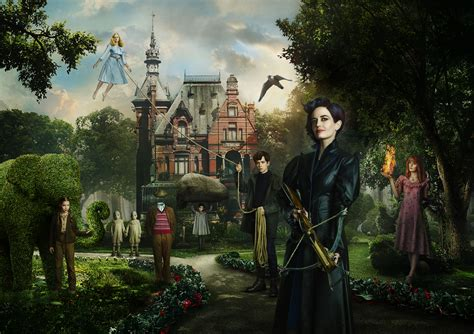wallpaper miss peregrine s home for peculiar children