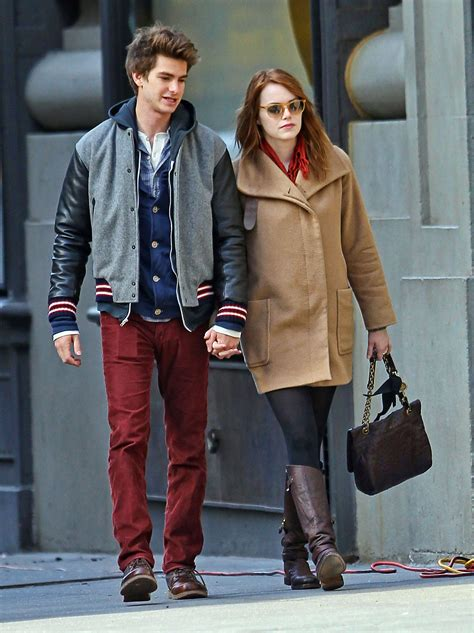 emma stone và andrew garfield andrew garfield and emma stone images a e in ny hd