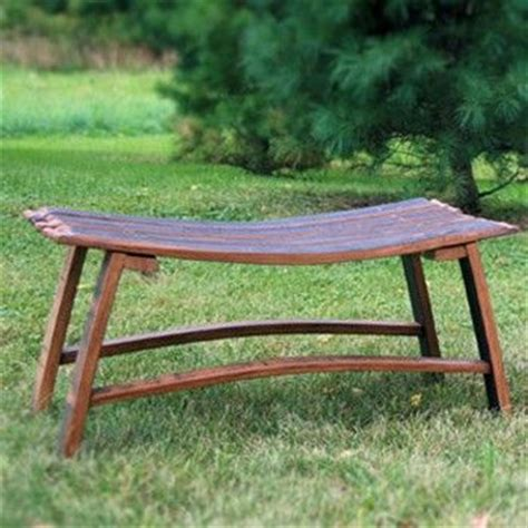 crate and barrell bench 17 best images about wine barrel furniture on pinterest