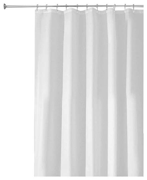 extra long shower curtains and liners interdesign poly shower curtain liner extra long shower