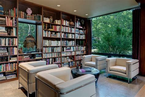 house library design the pursuit of harmonic design house of three rooms