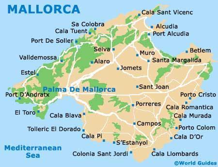 mallorca travel guide and tourist information: mallorca