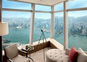 Gallery Room With A View by World S Highest Hotel Hong Kong S Ritz Carlton Opens Its