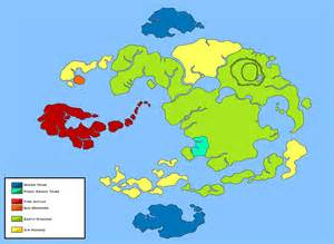 Avatar World Map by World Of Avatar Political Map Pre 100 Years War By Loudo