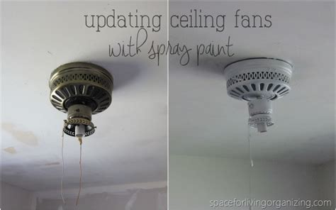 ceiling fan string broke cheap fixes spray paint edition space for living