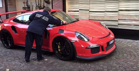new porsche 911 gt3 rs new porsche 911 gt3 rs gets a ticket on camera autoevolution