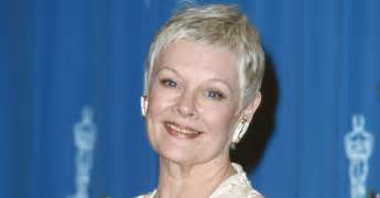 judi dench hairstyle front and back of back of head judi dench short hairstyle 2013