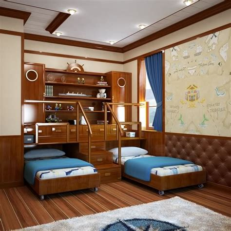 Themed Bedroom by Sea Themed Bedroom For The