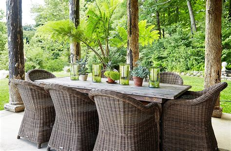 outdoor farm style dining chairs the best decorating ideas for your outdoor dining space