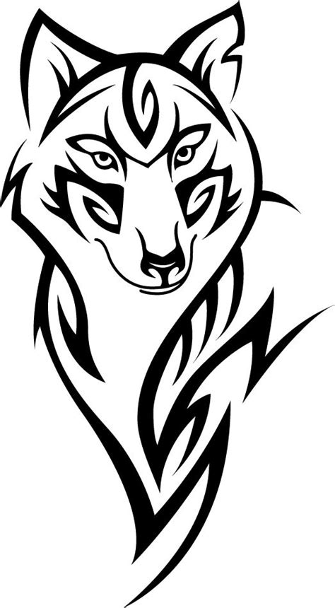 Tribal Wolf Aufkleber by River Vinyls Find Us On Facebook And Ebay Tribal