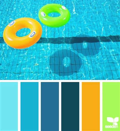 kids color scheme summer brights coastal decor color palette kids bathroom