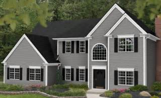grey exterior house colors cape cod gray home