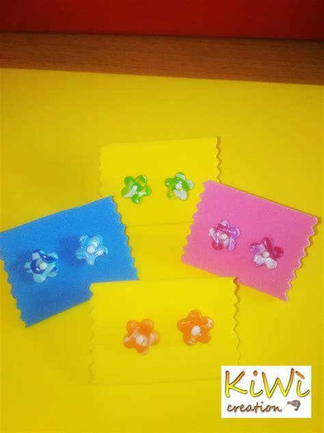 fiori con il fimo oricchini fiori fimo gioielli orecchini di kiw 236