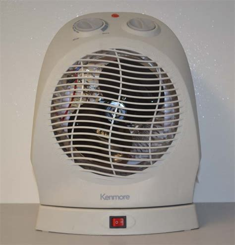 kenmore oscillating compact fan heater sears and kmart recall kenmore oscillating fan heaters due