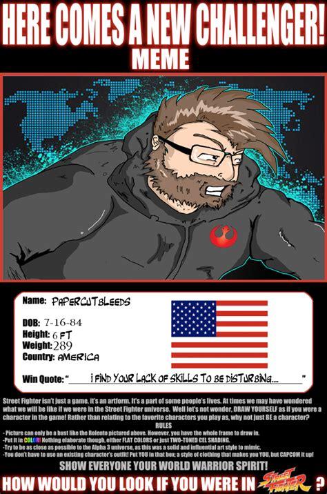 Street Fighter Meme - street fighter meme by papercutbleeds on deviantart
