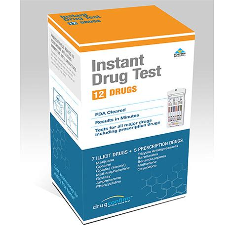 Home Test At Walmart by Drugconfirm Instant Multi Test Kit 12 Panel