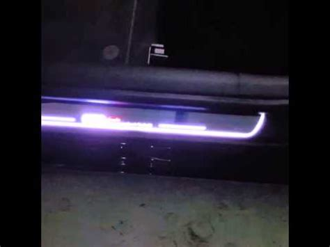 Door Sill Platr With Led audi led door sill plates